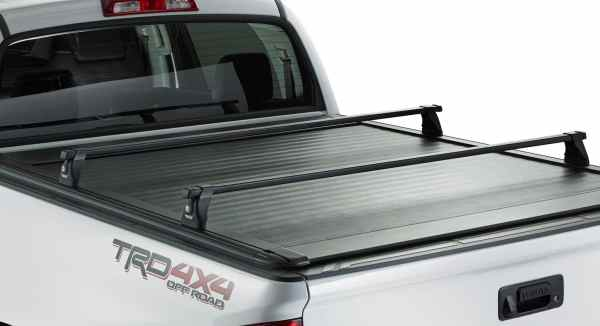 Ultragroove Tonneau on Toyota (rack not included)