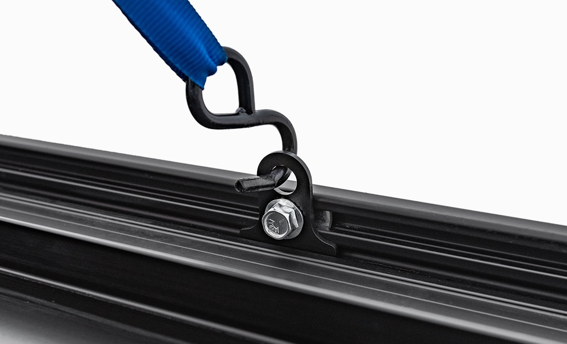 Slotted Channel for Tie Downs (Includes 4)