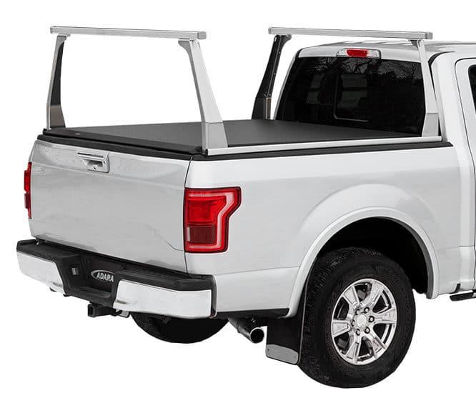 Adarac Aluminum Contour Truck Rack Installed