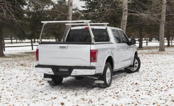 Adarac Aluminum Contour Truck Rack on Ford