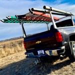 Adarac Aluminum Pro Series Rack on Chevy Silverado