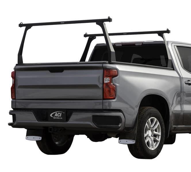 Adarac Black Matte Alum Contour Truck Racks