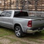 Adarac Black Matte Utility Rails on Ram Truck