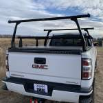 Adarac Cross Bar & Uprights Show on Chevy Silverado