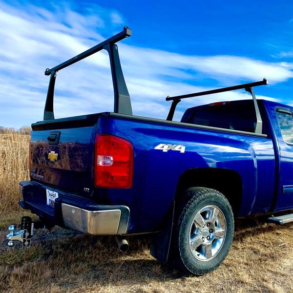 Matte Black Contour Truck Rack on Chevy Silverado
