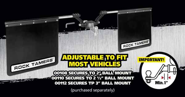 Towing Mud Flaps Adjust For Your Pickup