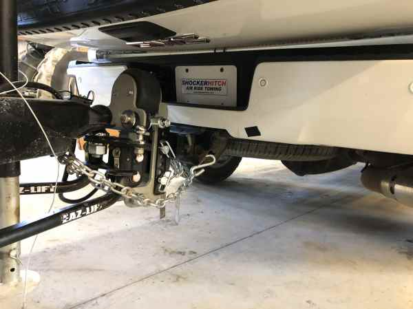 Clears Tailgate - Shocker Hitch Air Equalizer
