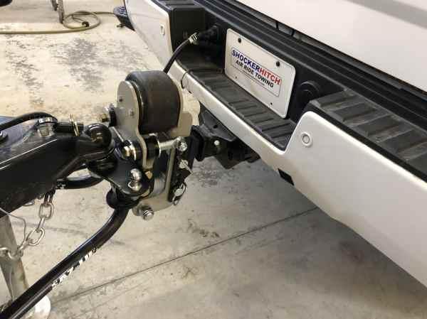 Shocker Air Equalizer Hitch Installed