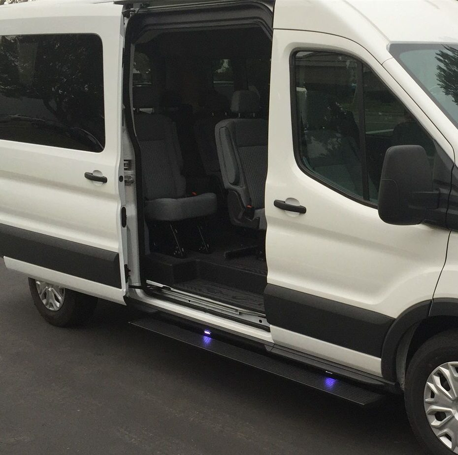 Amp Power Step Running Boards Ford Transit