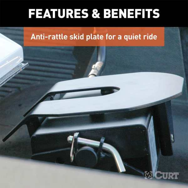 Anit-Rattle Skid Plate For A Quite Ride