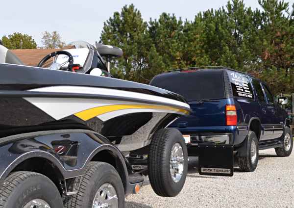 Boat Towing Mud Flaps