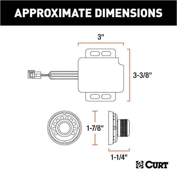 Brake Controller Approximate Dimensions