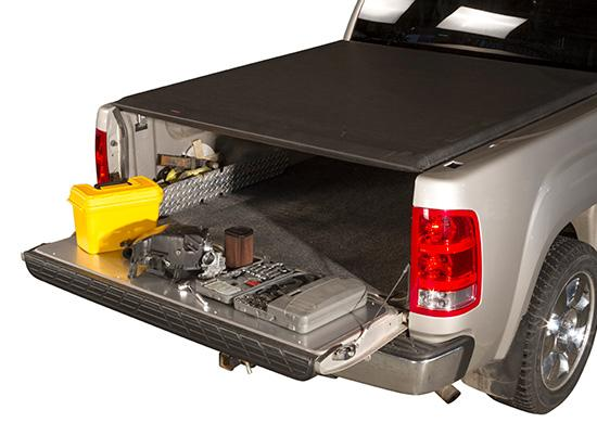 Smooth Work Surface with SS Tailgate Protector