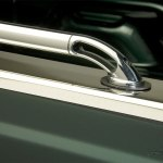 Chrome Stainless Steel Locker Truck Bed Rails