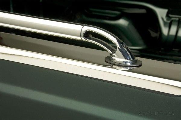 Chrome Stainless Steel Locker Truck Bed Rails