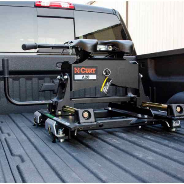 Curt A Series Hitch With Roller Puck System