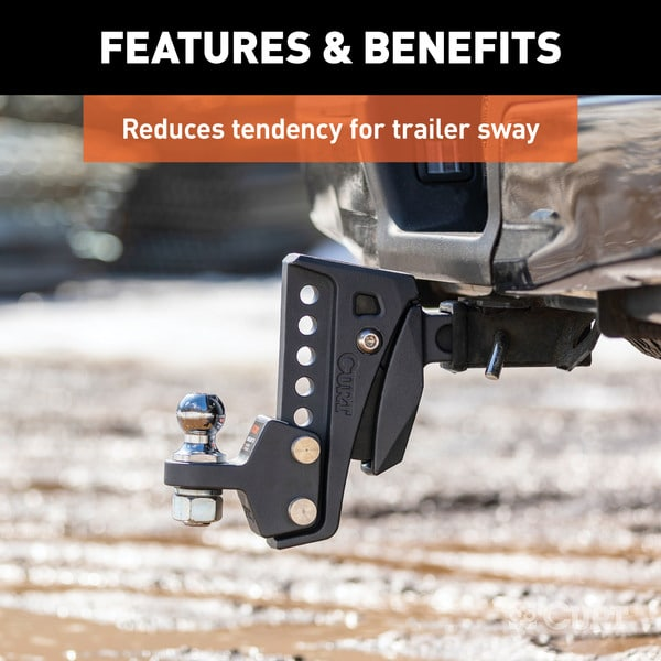 Reduces Trailer Sway