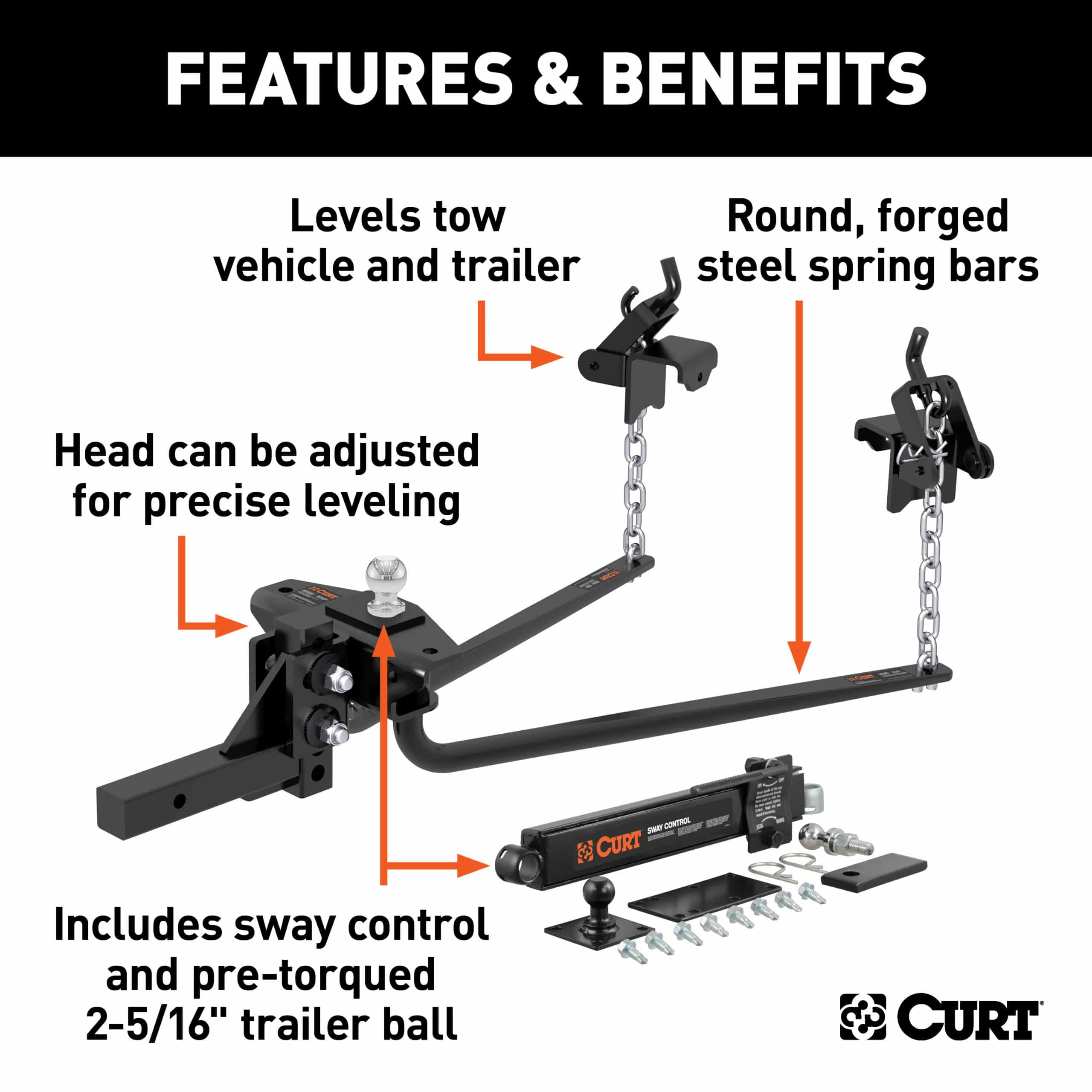Curt Combo Features and Benefits