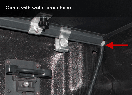 Front Clamp & Drain Tube Shown