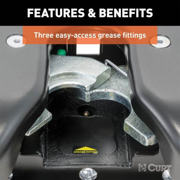 Easy Access Maintenance With 3 Grease Zerks