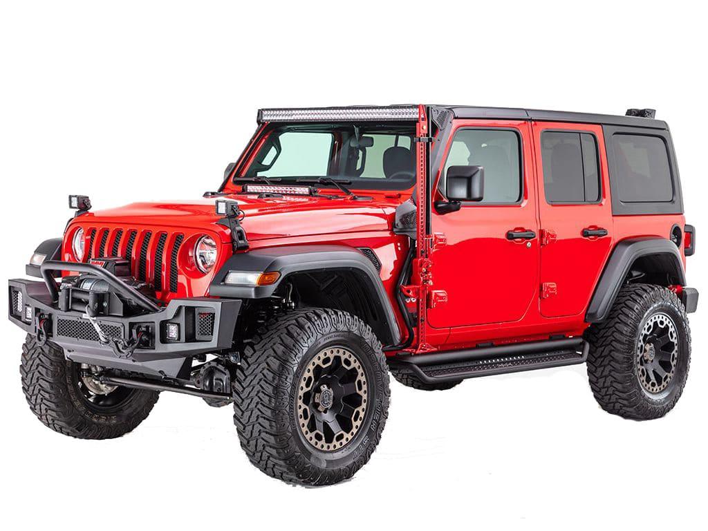 D1 Dominator Steps on Jeep Wrangler