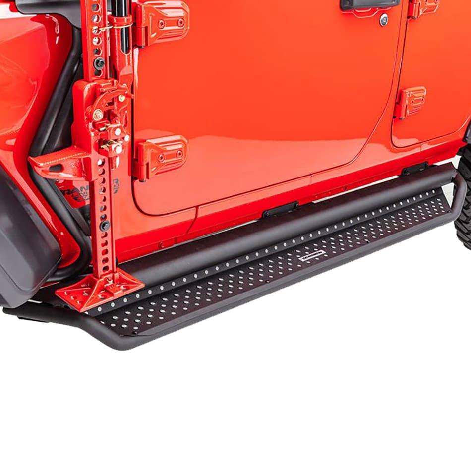 Go Rhno D1 Dominator Full Length Drop Side Steps