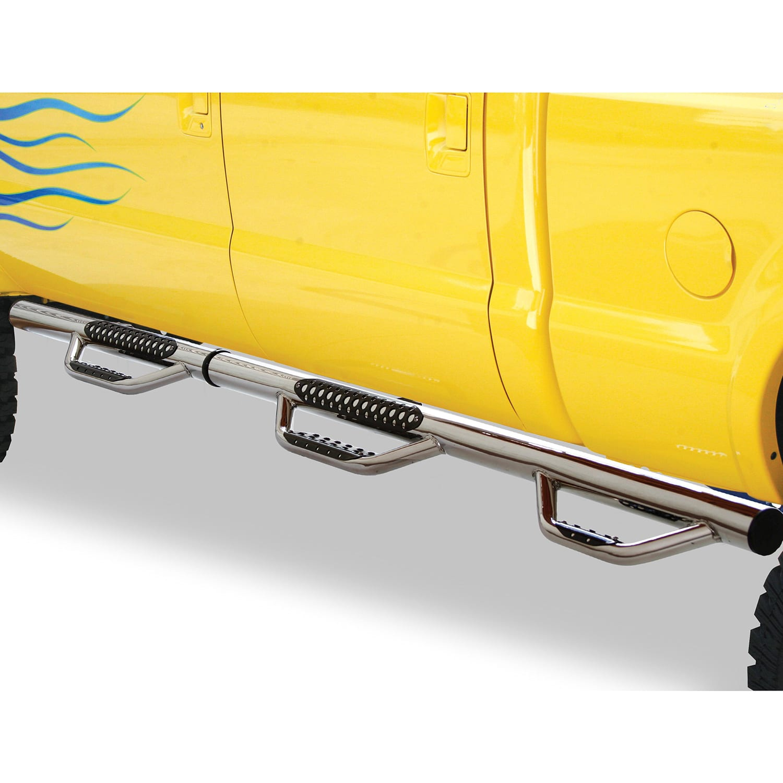 Go Rhino D3 Dominator Wheel to Wheel Double Steps - Stainless Steel
