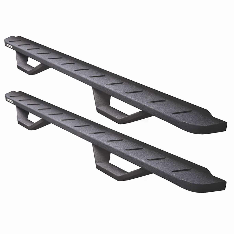 Go Rhino RB10 Drop Step Running Boards - Bedliner Coating
