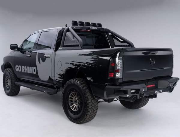 Go Rhino RB10 Boards Rear View