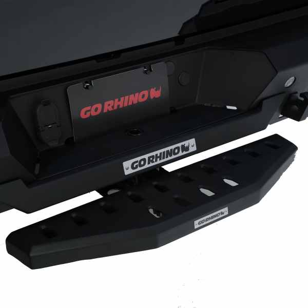 Go Rhino RB20 Hitch Step (Textured Black)
