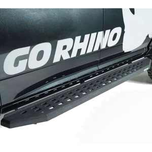 Go Rhino RB20 Running Boards (Bedliner Coat Finish)