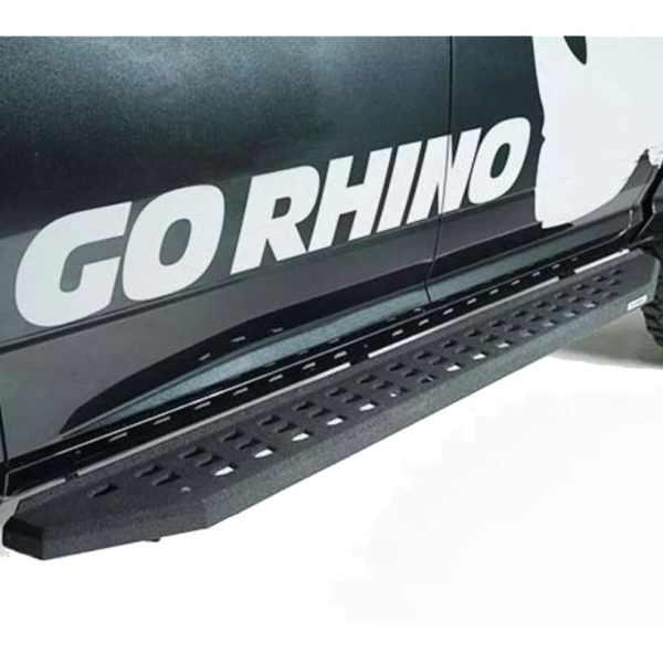 Go Rhino RB20 Running Boards (Bedliner Coat Finish)