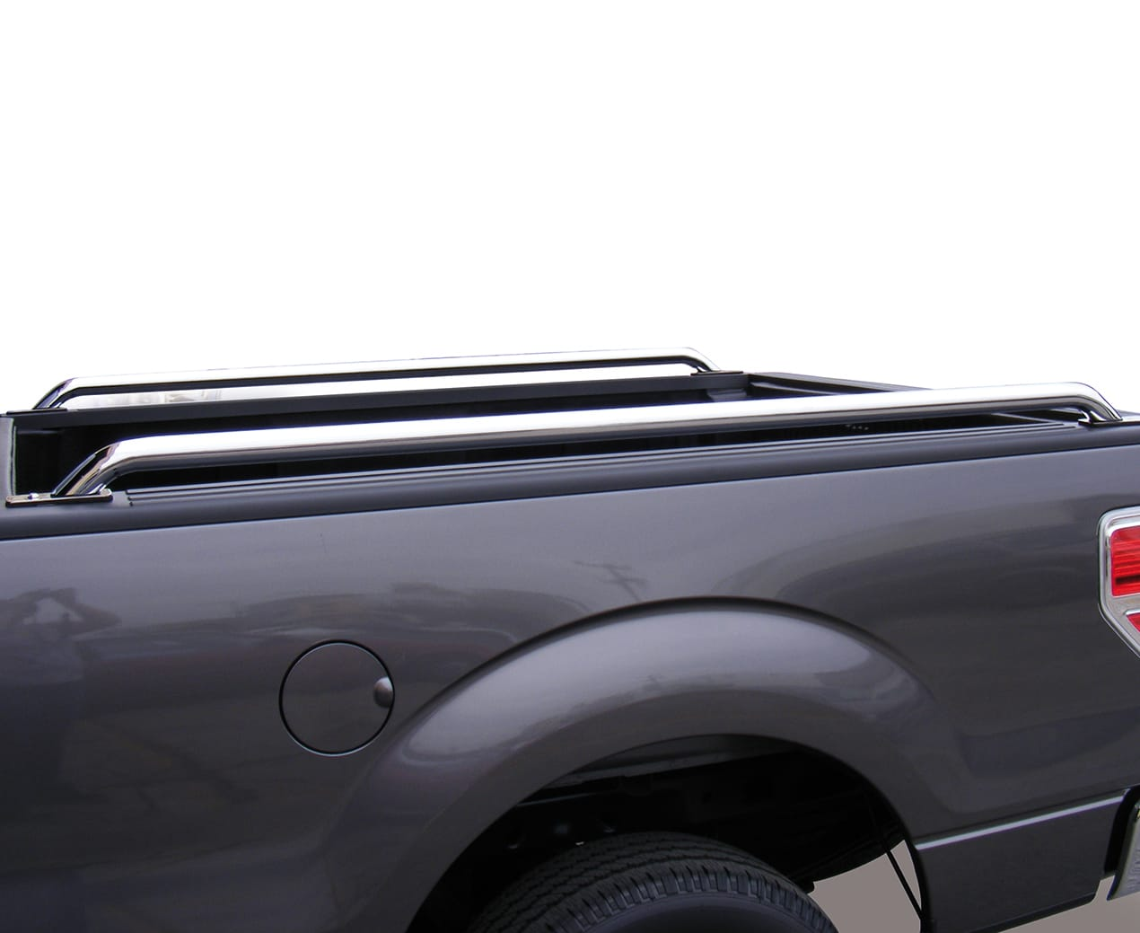 Go Rhino Truck Bed Rails Installed