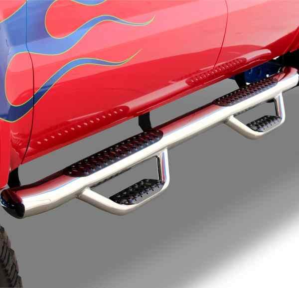 Go Rhino Stainless Steel D4 Dominator Dual-Step Nerf Bars