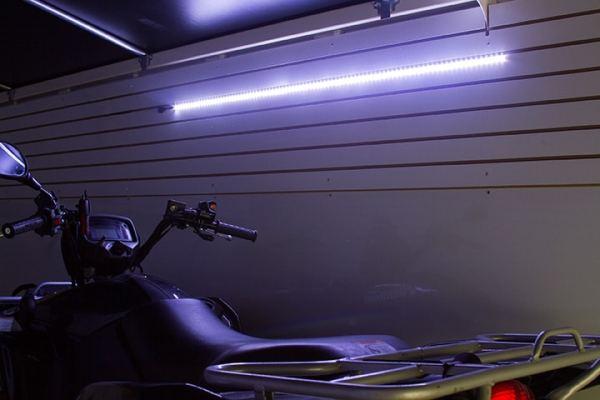 12V LED Lights in Trailer