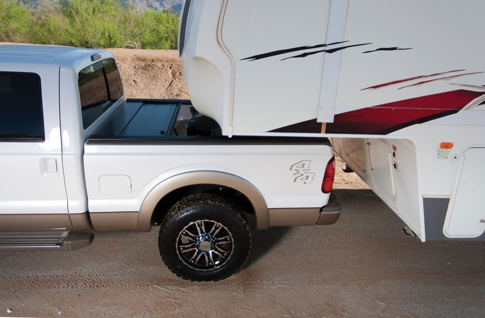 Great for 5th Wheel & Gooseneck Towing