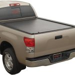 JackRabbit Full Metal w/ Explorer Series Rails Truck Bed Cover on Toyota