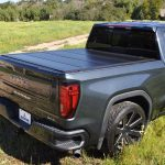 Leer HF650M Hard Quad Fold Tonneau Cover on Chevy