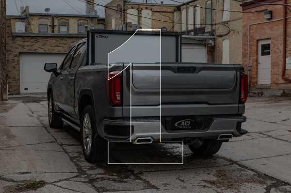 Lomax Stance Hard Folding Tonneau Cover - 100% Open & Secured