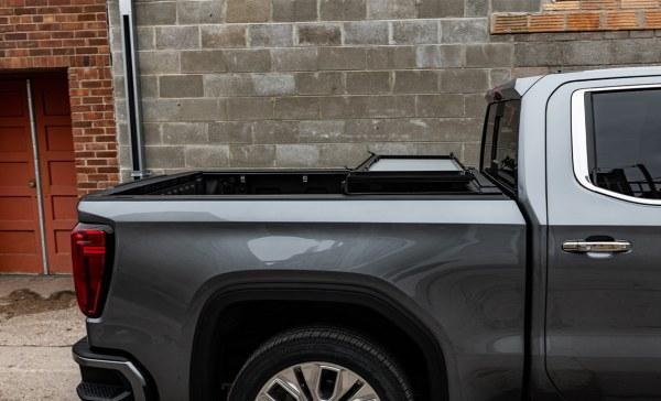 Folded Up Option 1 - Behind Cab