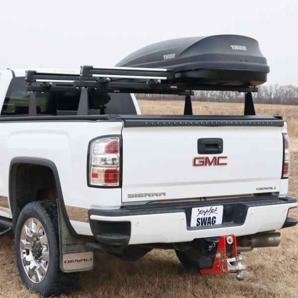 M-Series Rack with Snowboard Carrier & Cargo Box