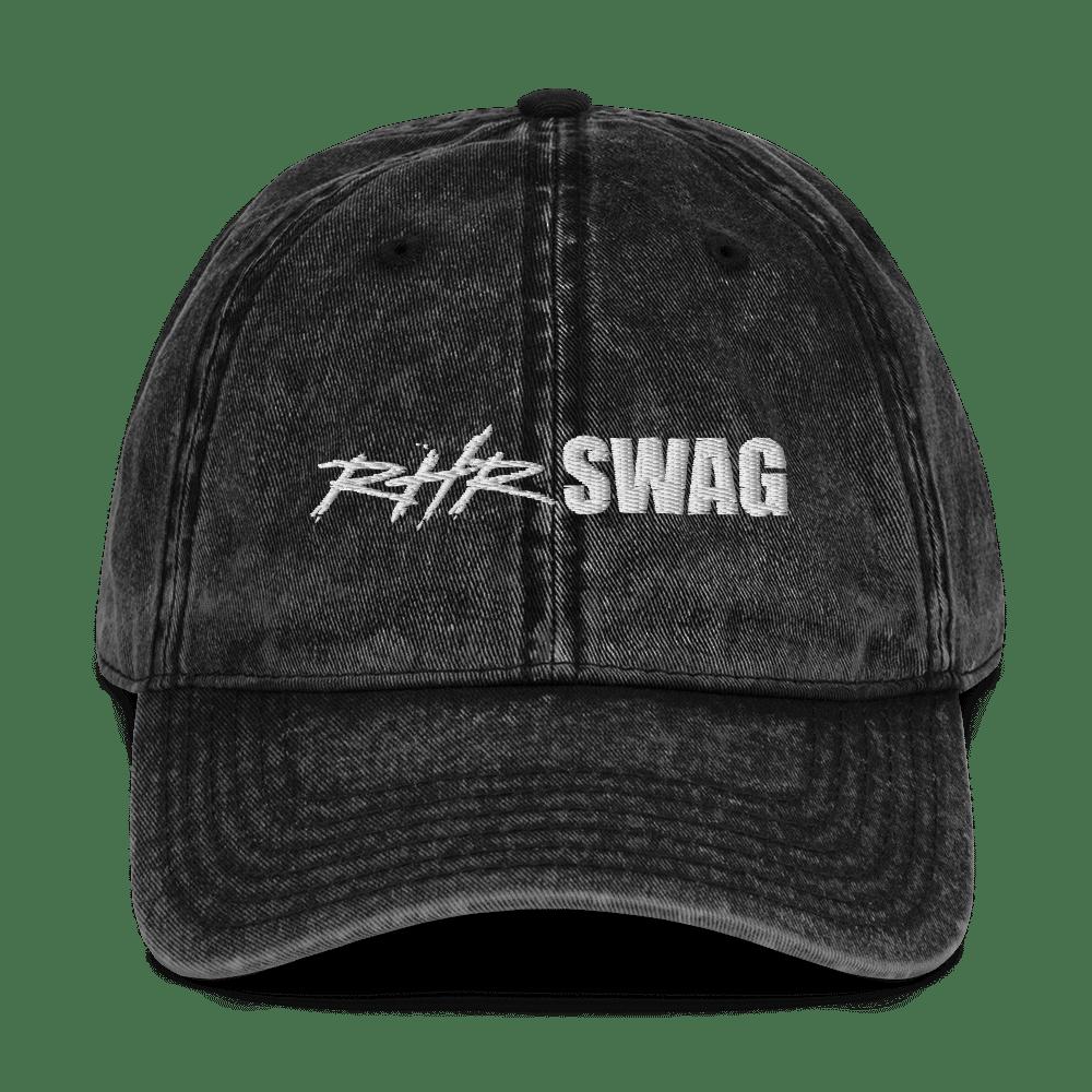 RHR Swag Vintage Cotton Twill Cap Black
