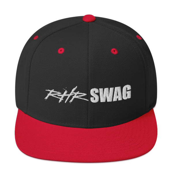RHR Swag Snapback Flat Brim Ball Cap