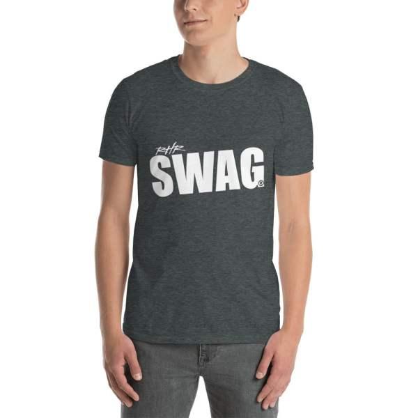 Grey RHR Swag Slanted T Shirt
