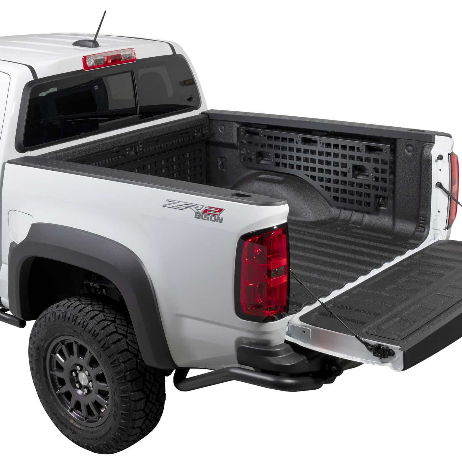 Molle Panel Kit installed in Chevy Colorado