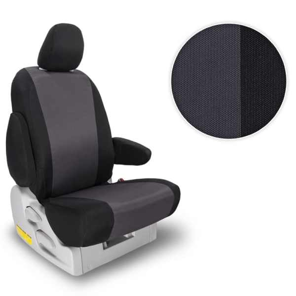 Northwest Atomic Polypro Grey Two-Tone Seat Covers