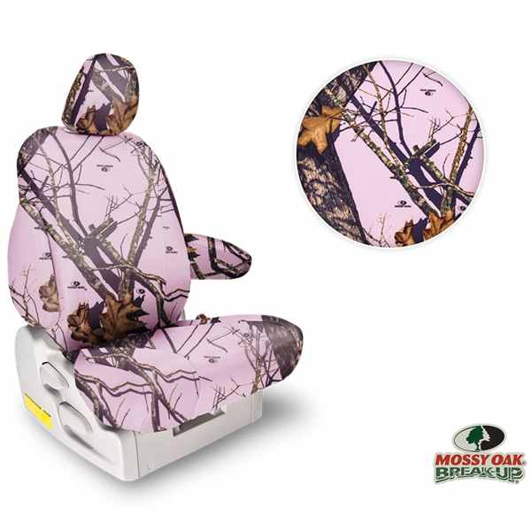 Northwest Mossy Oak Pink Seat Covers