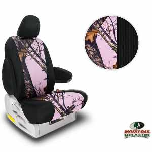 Northwest Mossy Oak Pink Two-Tone Seat Covers
