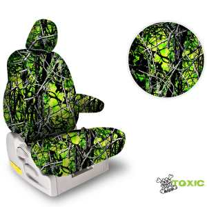 Northwest Solid Moonshine Toxic Camo Seat Covers