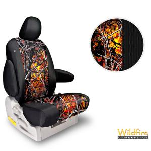 Northwest Two-Tone Moonshine Wildfire Seat Covers